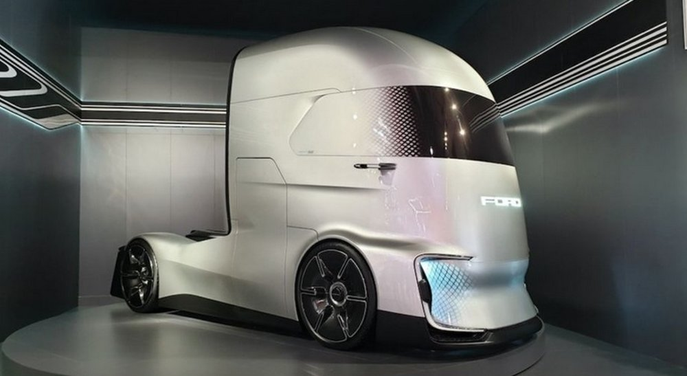 Ford F-Vision is a Look at the Future of Heavy Trucks