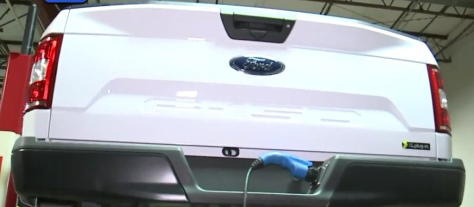 Ford F-150 with Plug Port