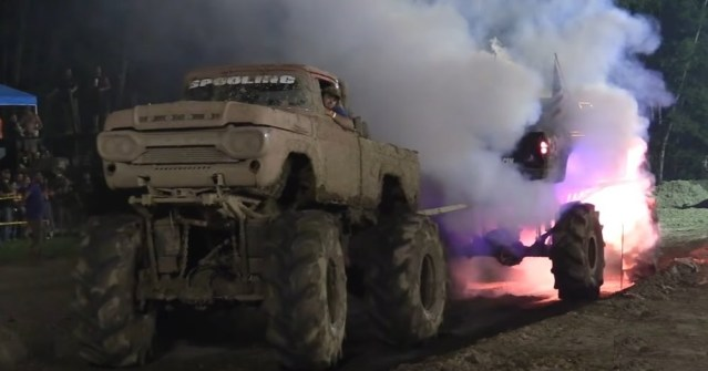 Ford Pulls Chevy as it Explodes