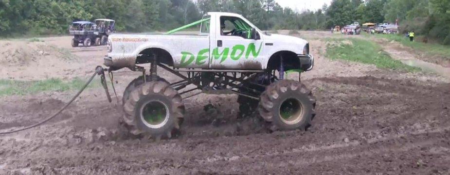Demon Ford F-250 Side