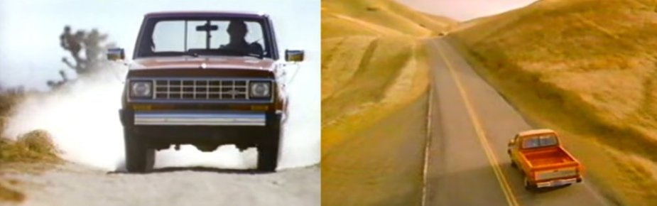 1985 Ford Ranger in Action