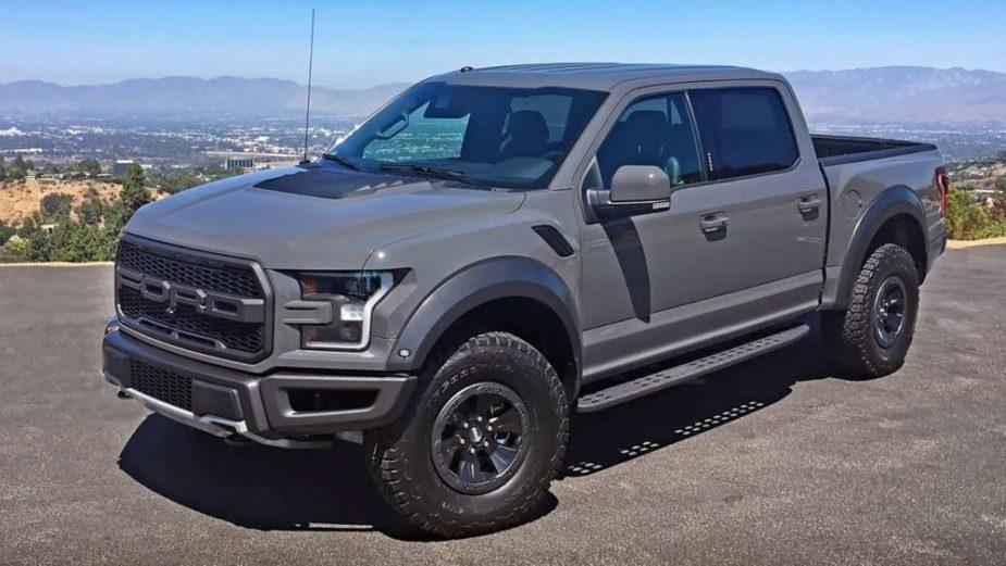 F-150 Raptor SuperCrew Rocks, Says Automotive - Ford ...
