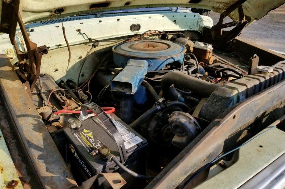 1972 Ford F-250 Ranger Engine