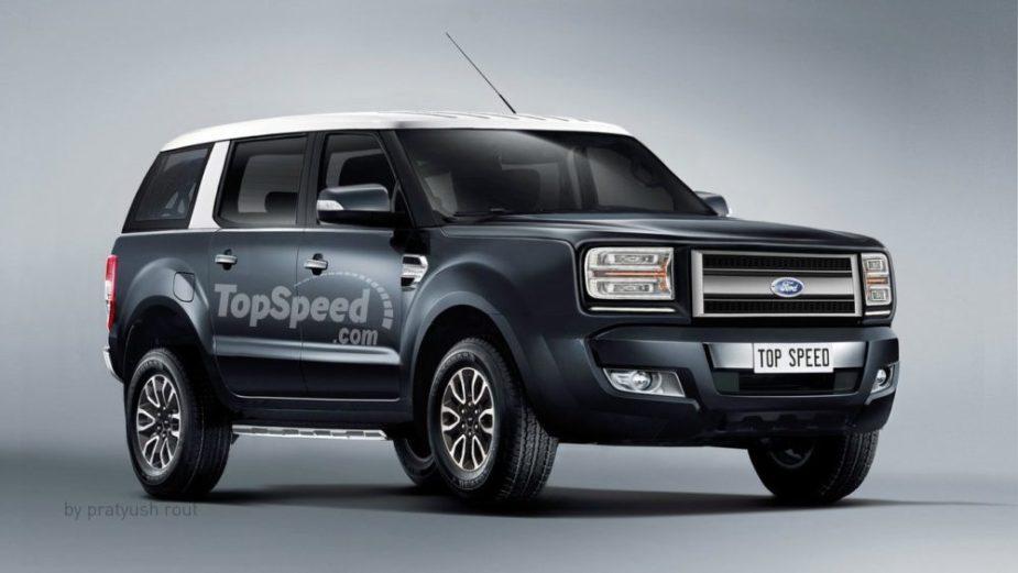 2020 Ford Bronco Render