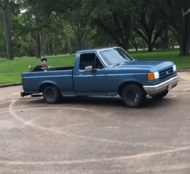 1991 Ford F-150 donuts