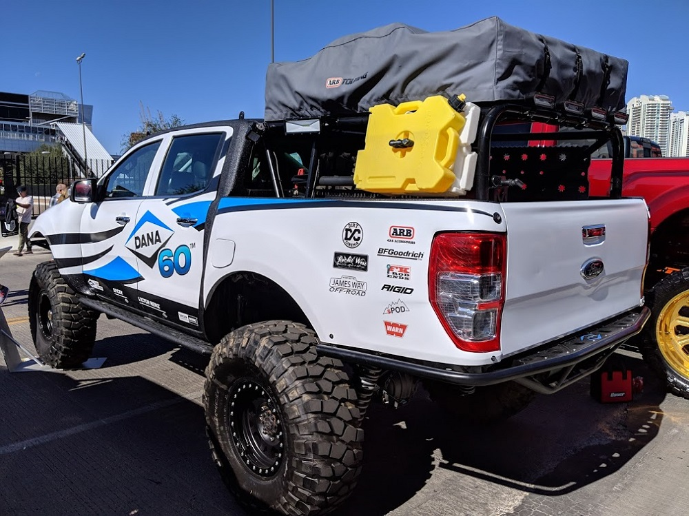 Ultimate Dana 60 Ford Ranger Is Off Roading Standout At Sema Ford