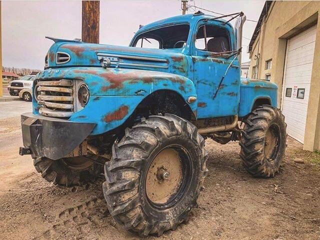 Mystery 1940s Ford F-Series.