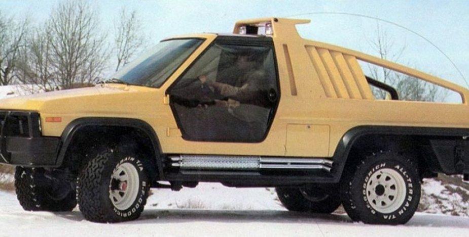 1981 Ford Bronco Montana Lobo Concept Side
