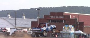 Dirt Poor Ford Bronco Jump Rear