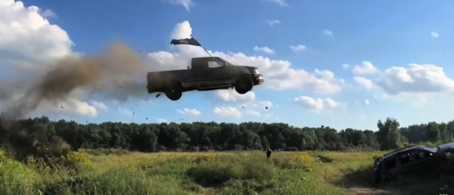 Ford F-150 Takes Flight