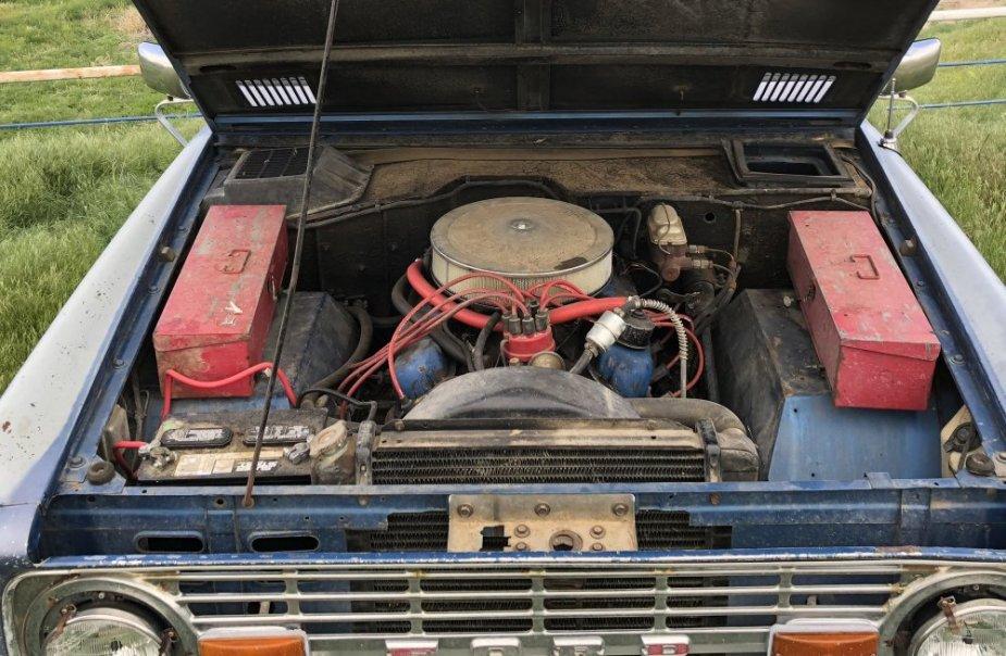 1970 Bronco 302 Engine