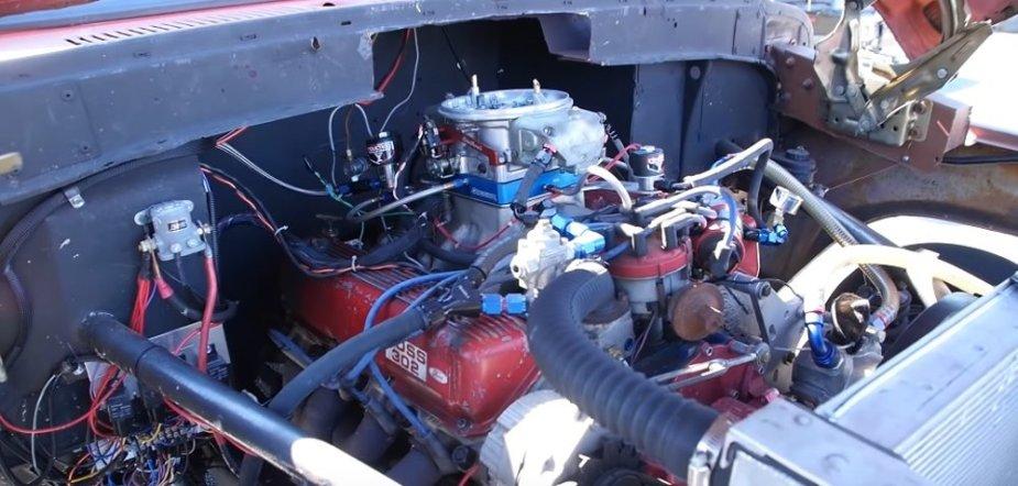 F-100 Race Truck Engine