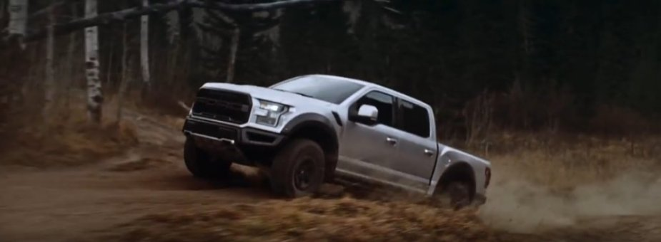 2018 Ford F-150 Raptor Jumping