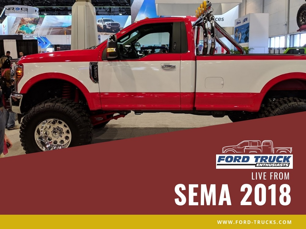 Two Toned Ford F 250 Brings Retro Style To Sema Ford