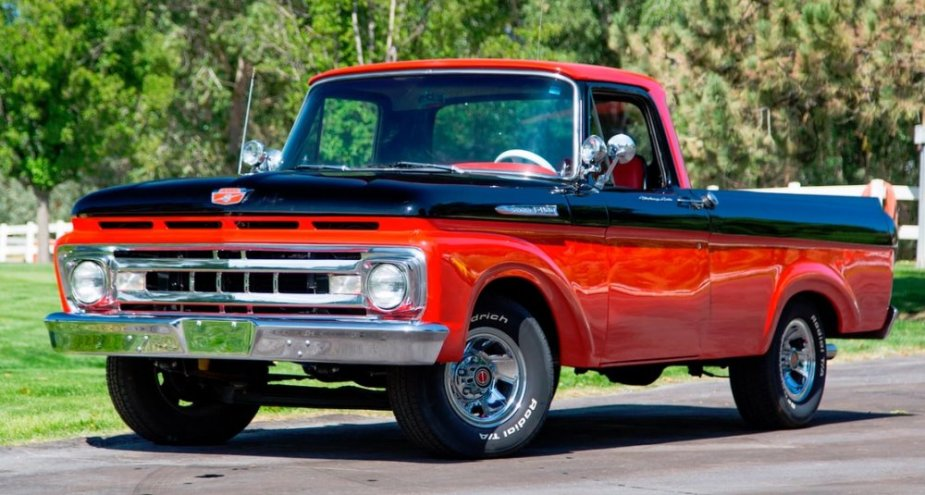 1961 Ford F-100 Driver's Side Front