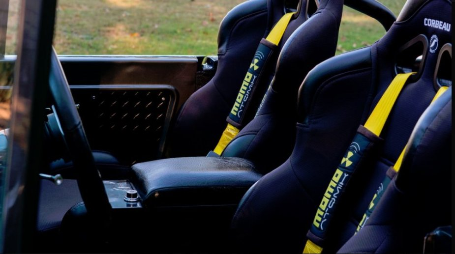 1967 Ford Bronco Front Seats