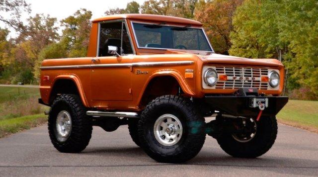1975 Ford Bronco Passenger Front Corner