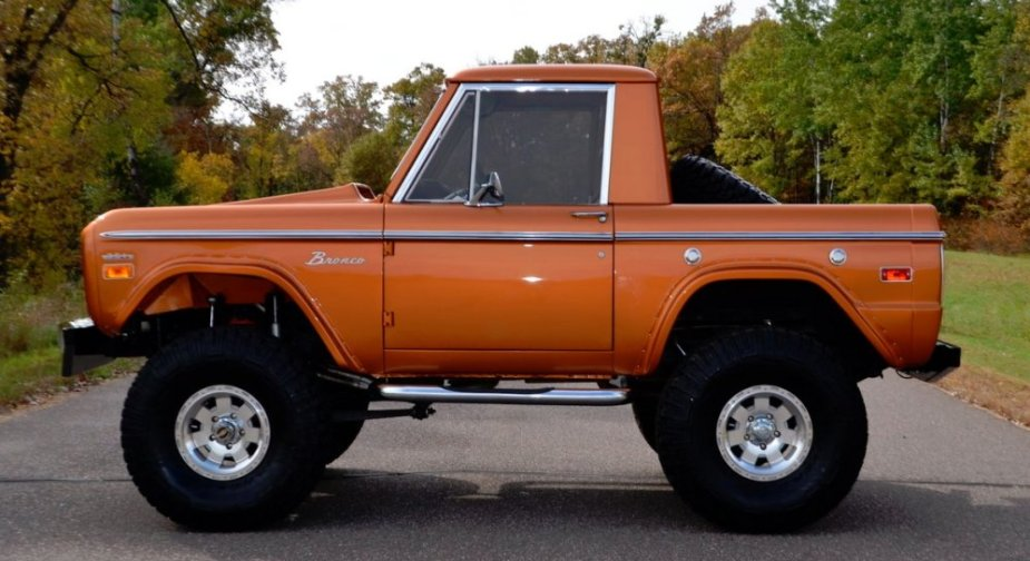 1975 Ford Bronco Side
