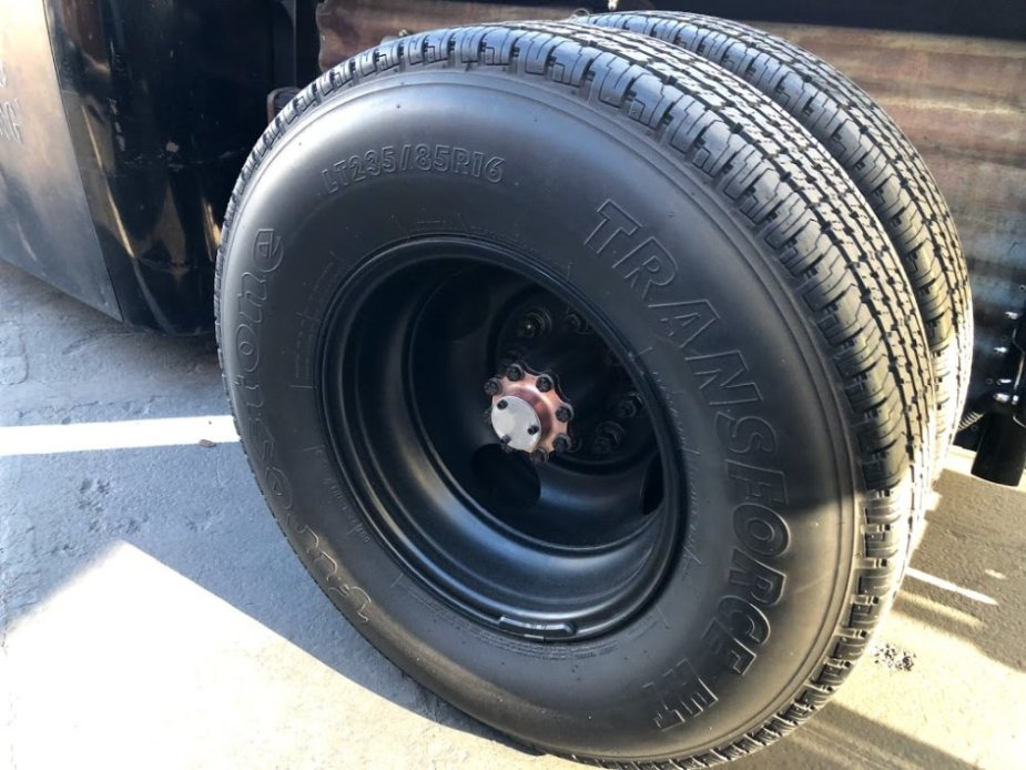 1949 Ford F-5 Hot Wheels Tires
