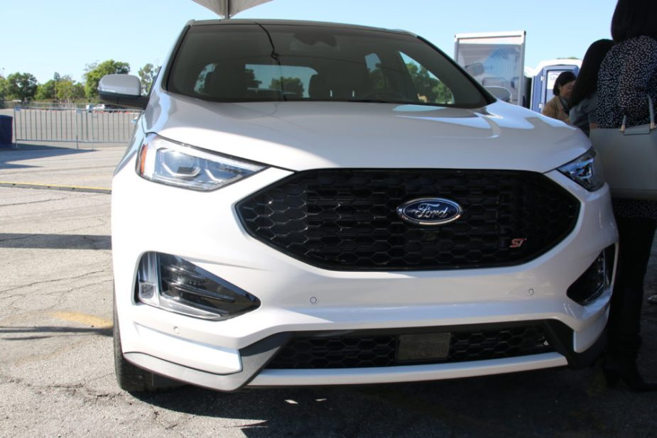 First-ever Ford Edge ST sports utility vehicle
