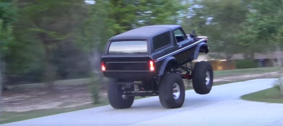 1979 Ford Bronco Wheels Up Rear