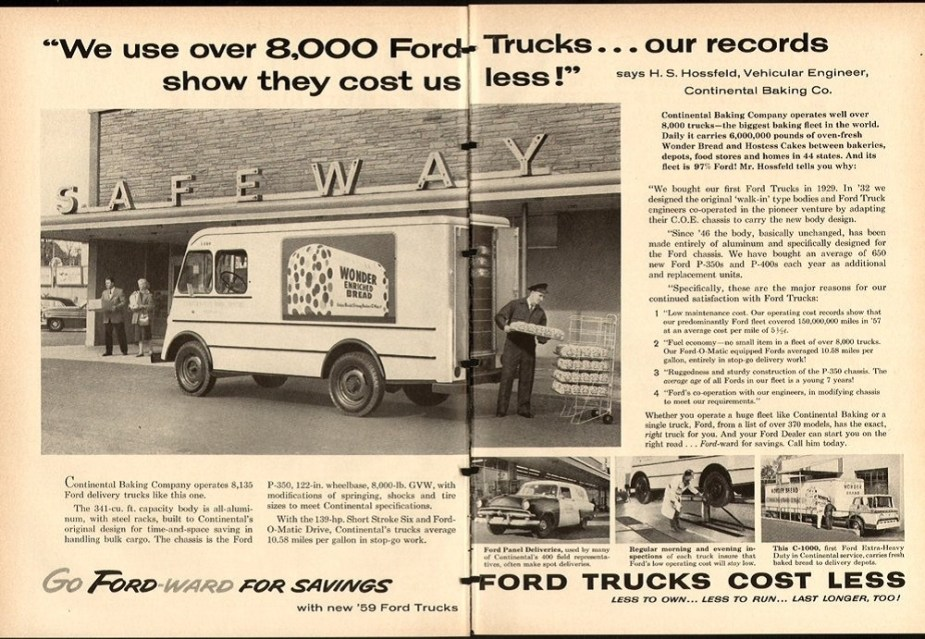 Ford Wonder Bread Ad