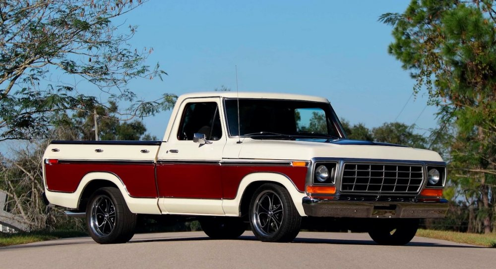 1978 Ford F-100 Restomod Passenger Side