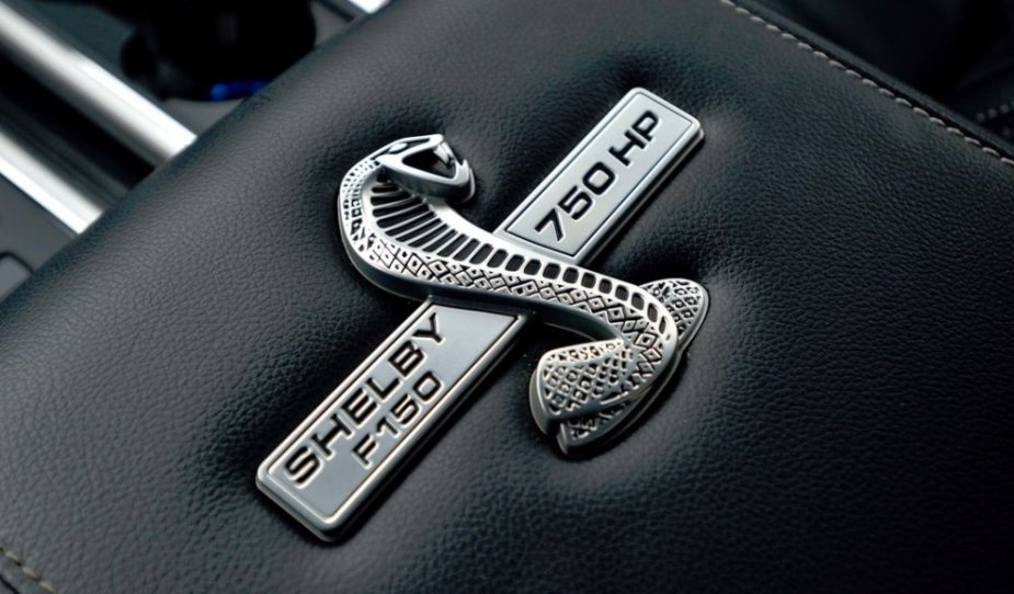 Shelby Super Snake F-150 Badge