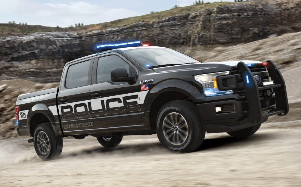 Ford F-150 Out Sprints Chevy Tahoe in Police Truck Shootout