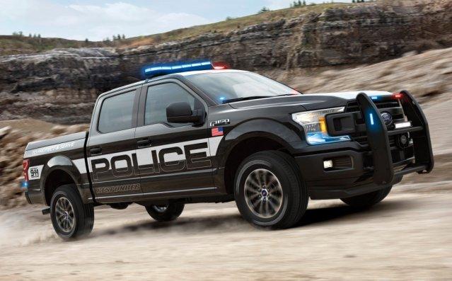 Ford F-150 Police Responder EcoBoost Front
