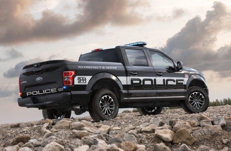 Ford F-150 Police Responder EcoBoost Rear