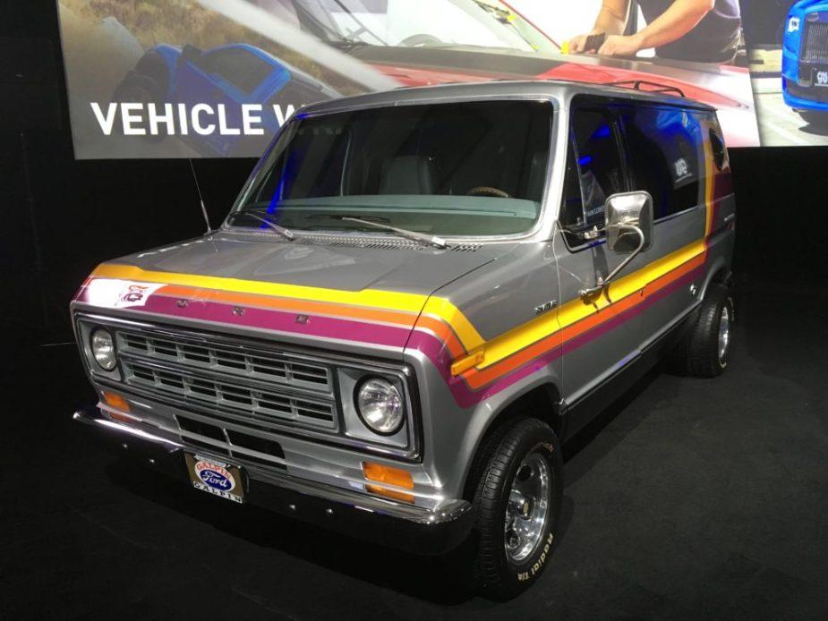 Ford Van at L.A. Auto Show