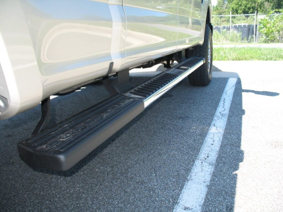 Super Duty Extended Running Boards