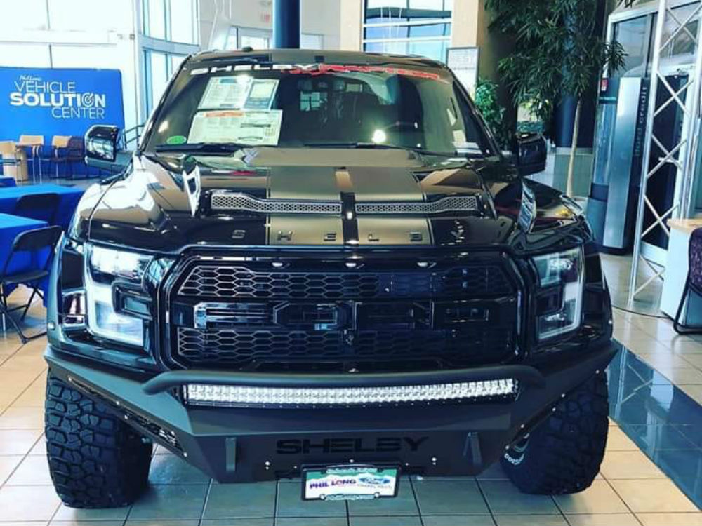 Rare Shelby F 150 Baja Raptor Top Prize In Charity Raffle