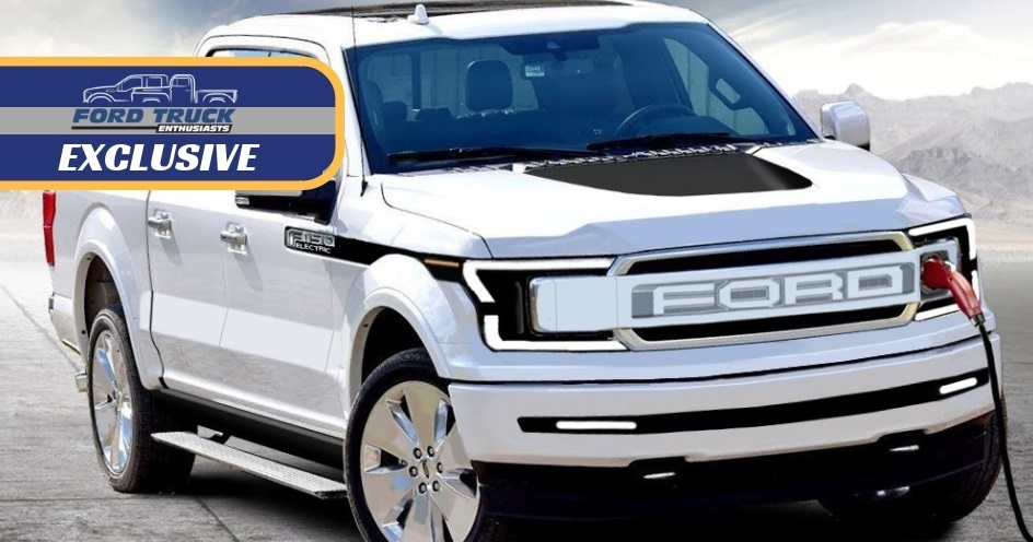 Is This What The Electric Ford F 150 Will Look Like