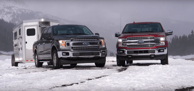 ford-trucks.com The Fast Lane Truck Pits V8 Against EcoBoost in Towing Contest