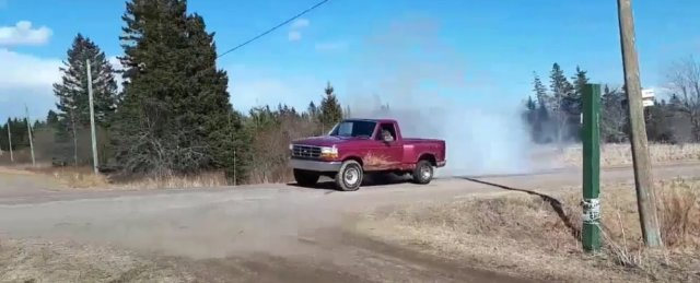 1993 Ford F-150 Burnout Front