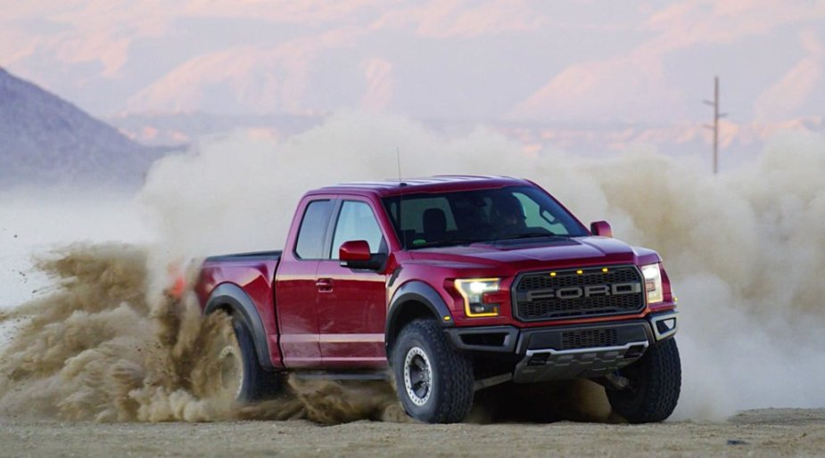 2017 Ford F-150 Raptor in Red