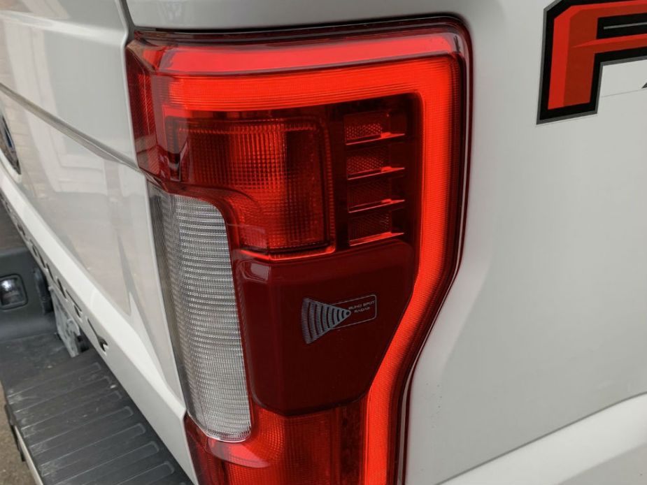 2017-2019 Ford F-250 LED Taillight with Blind Spot Radar