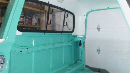 1965 Ford F-100 Rear Cab After