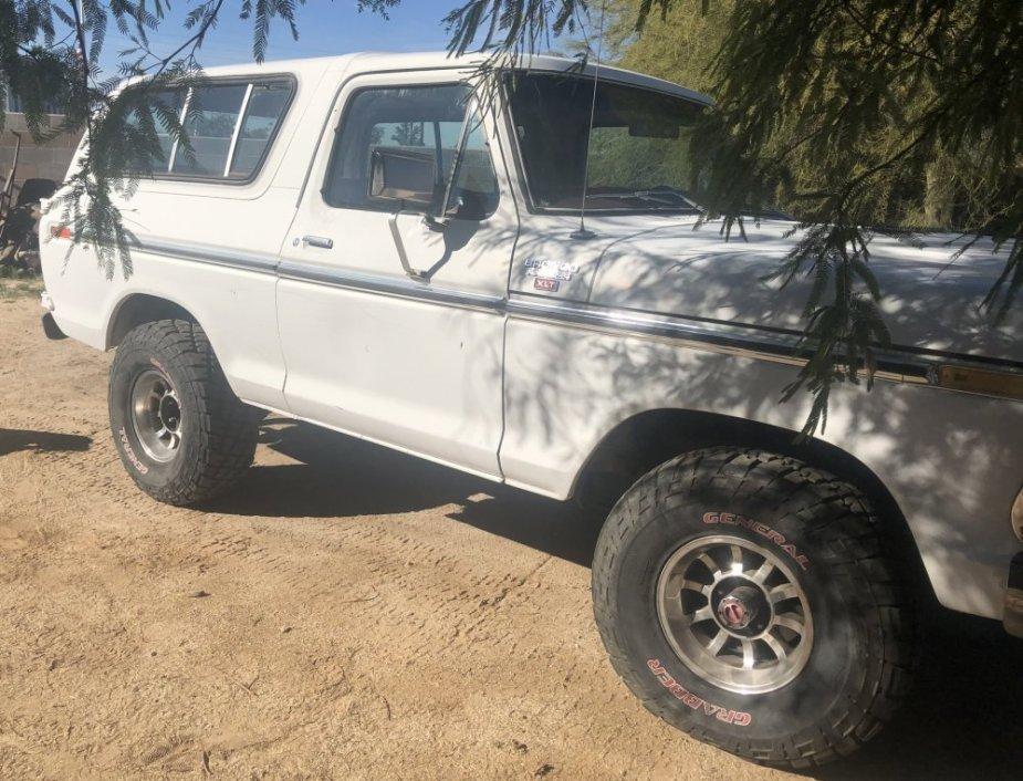 1978 Ford Bronco For Sale Passenger Side