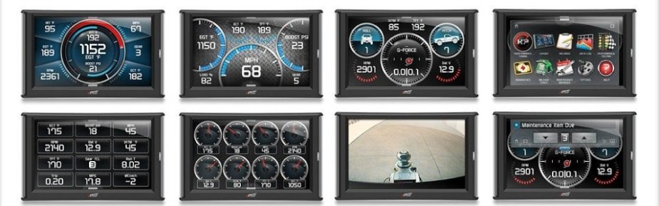 Edge Insight CTS2 Screens for Ford Trucks
