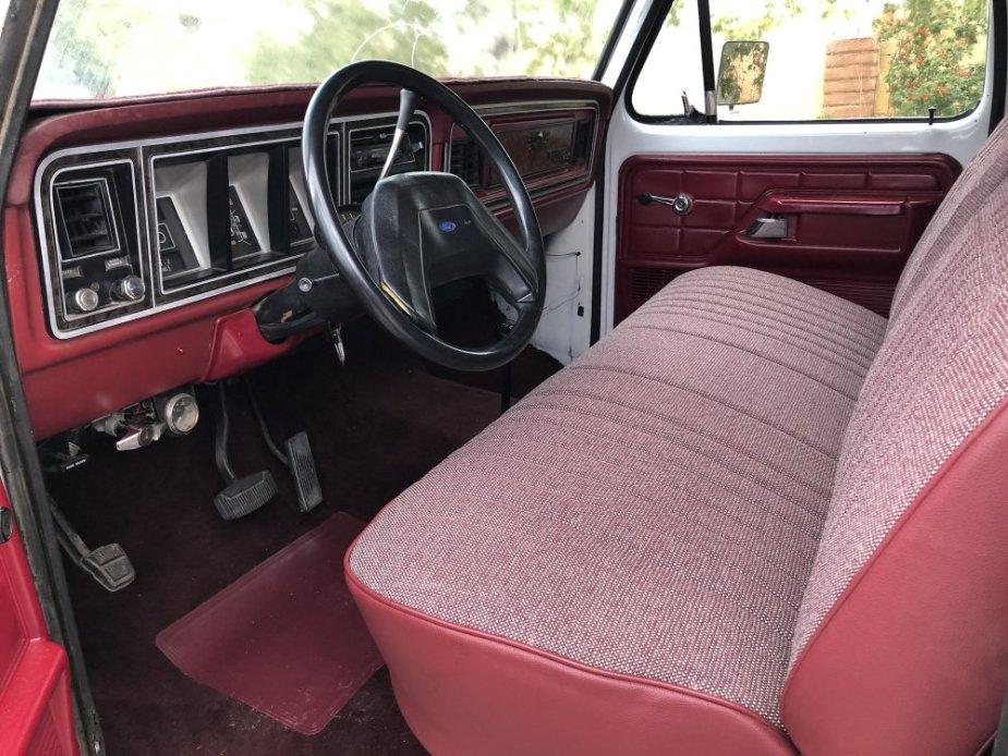 1978 Ford Bronco For Sale Dash