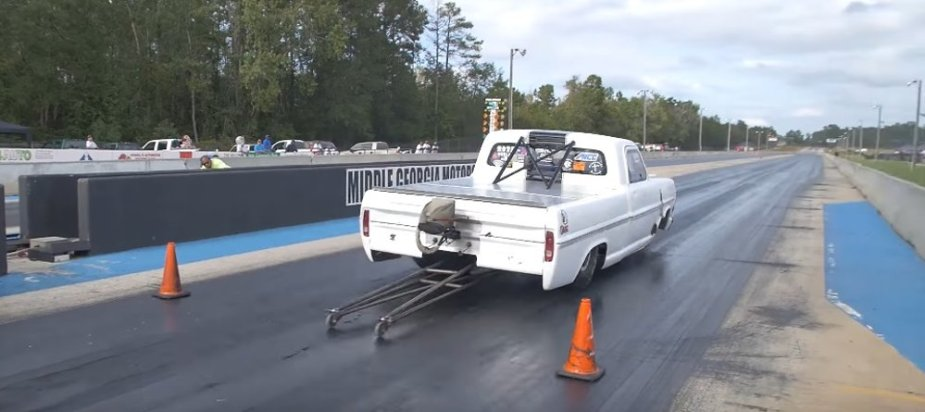 Ford F-Series Drag Truck Launch