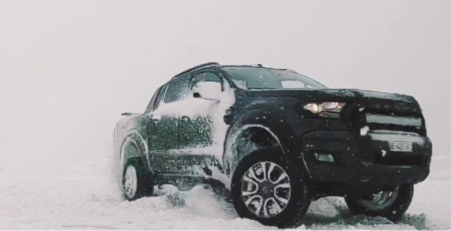 Ford Ranger Snow Drift Swiss