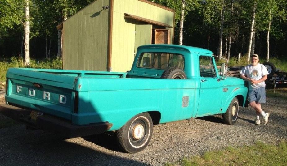 1965 Ford F-100 with the Seller