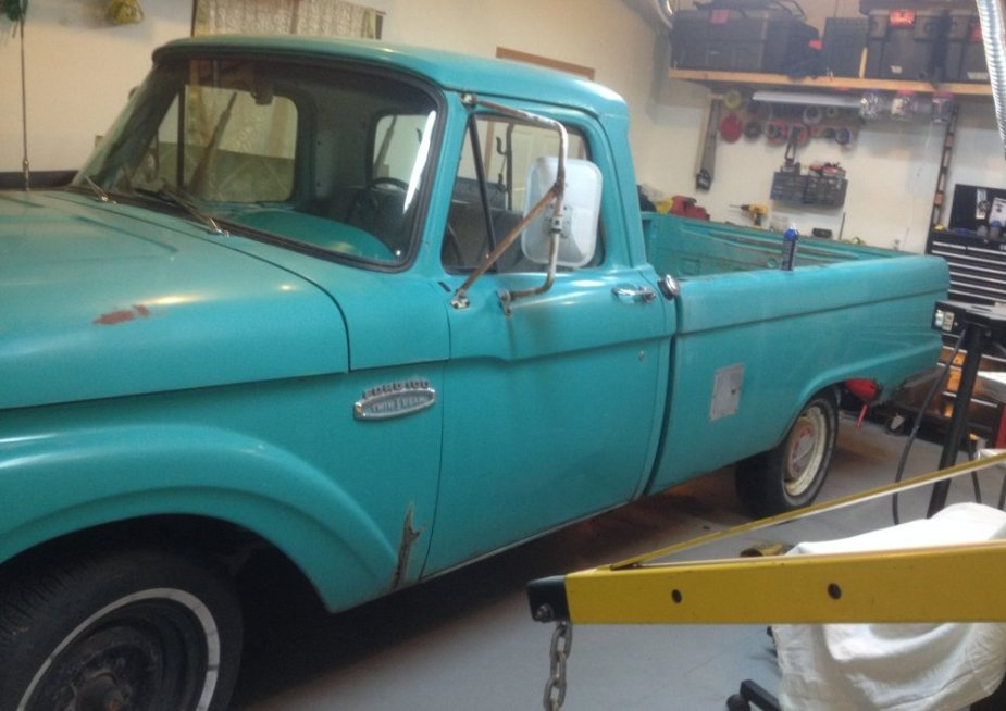 1965 Ford F-100 CLose Side