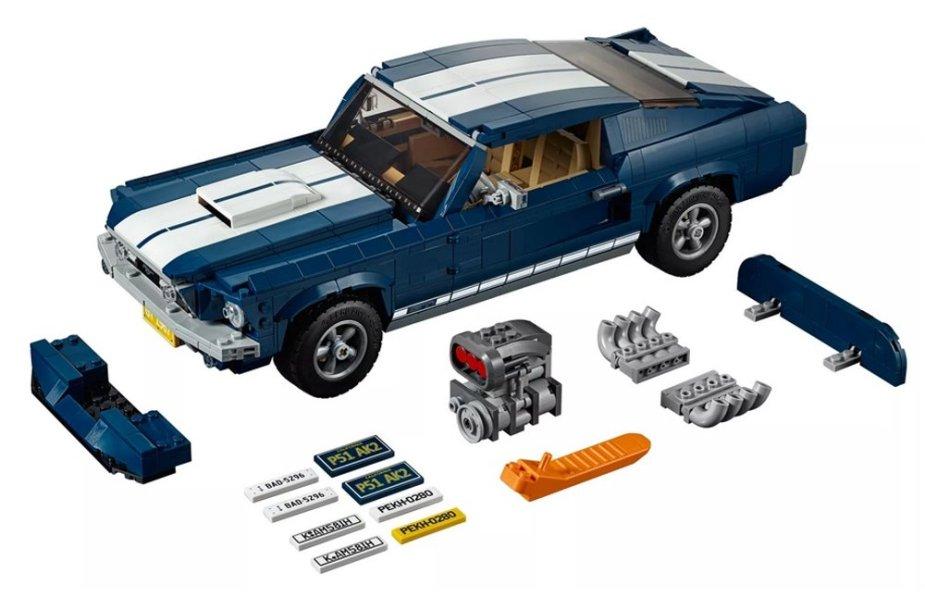 1967 Lego Mustang Kit