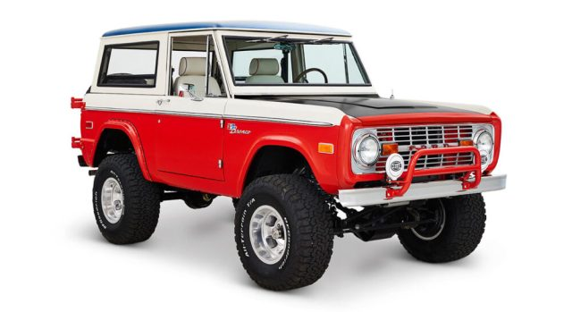 Ford Bronco Bill Stroppe Edition