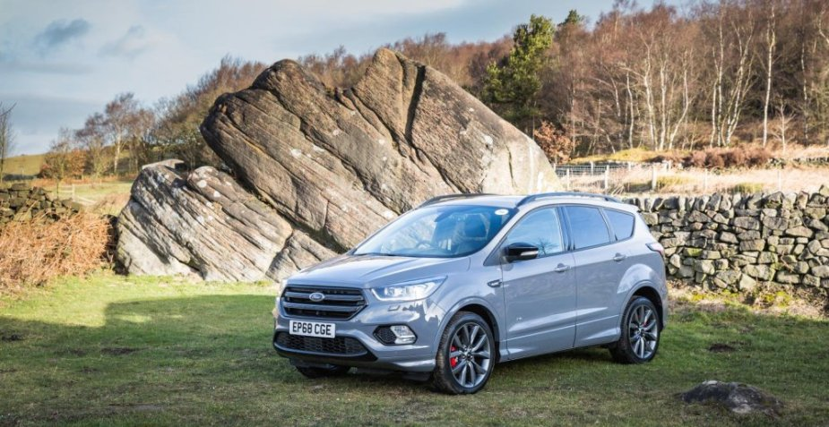 Ford Kuga in Silver